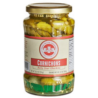 Les Trois Petits Cochons 12 oz. Cornichon Pickles   - 12/Case