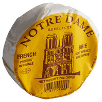 Notre Dame 7 oz. Imported Baby Brie Cheese - 12/Case