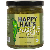 Cortazzo 9 oz. Jar Happy Hal's Gourmet Jalapeno Relish - 12/Case
