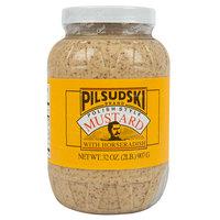 Pilsudski 32 oz. Polish Style Horseradish Mustard   - 12/Case
