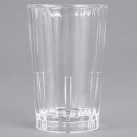 Cambro HT5CW135 Camwear Huntington 5 oz. Clear Customizable Squat Plastic Tumbler - 36/Case