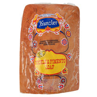 Kunzler 5 lb. Pickle and Pimento Loaf - 2/Case