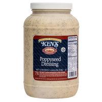 Ken's Foods 1 Gallon Poppyseed Dressing - 4/Case