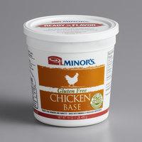 Minor's Gluten Free Chicken Base 1 lb. Tub   - 6/Case