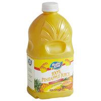 Ruby Kist 46 oz. Unsweetened 100% Pineapple Juice - 12/Case