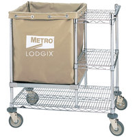 Metro LXHR-PRO Lodgix Houserunner Pro Cart 36 inch x 24 inch x 39 inch