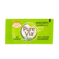 Pure Via All Natural Stevia Sweetener 1 Gram Packets - 1000/Case