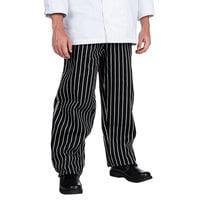 Chef Revival Unisex Pinstripe EZ Fit Chef Pants - Small