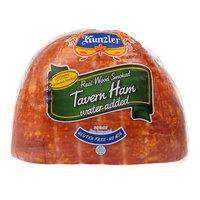 Kunzler 4.5 lb. Real Wood Smoked Tavern Ham - 4/Case