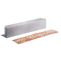 APW Wyott 21783930 Front Control Cover and Decal for HR-31 and HRS-31 Hot Dog Roller Grills