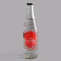 Boylan Bottling Co. 12 oz. Raspberry Seltzer 4-Pack - 6/Case