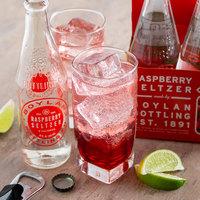 Boylan Bottling Co. 12 oz. Raspberry Seltzer 4-Pack - 6/Case