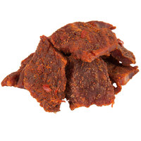 Uncle Mike's 16-Count Spicy Hot Beef Jerky 1.6 oz. Bags - 16/Case