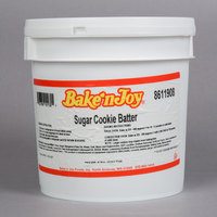 Bake'n Joy 8 lb. Pail Sugar Cookie Batter - 2/Case