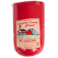 Lancaster County Brand by Kunzler 5 lb. Deli Bologna - 2/Case