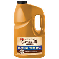 French's Cattlemen's 1 Gallon Carolina Tangy Gold Barbeque Sauce - 4/Case