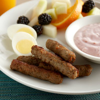 Jones Dairy Farm 0.67 oz. Golden Brown Turkey Breakfast Sausage Links - 10 lb.