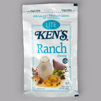 Ken's Foods 1.5 oz. Lite Ranch Dressing Packet - 60/Case
