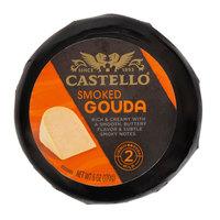 Castello 6 oz. Smoked Baby Gouda Cheese in Black Wax - 12/Case
