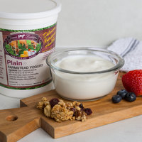 Farmer Rudolph's 32 oz. Plain Farmstead Yogurt