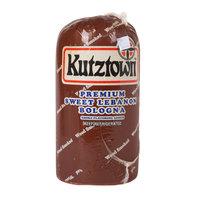 Kutztown 5 lb. Sweet Lebanon Bologna Half - 4/Case