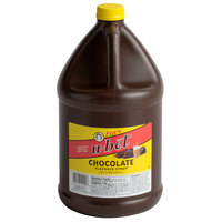 Fox's U-Bet 1 Gallon Chocolate Syrup - 4/Case