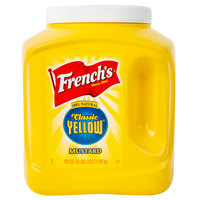 French's 105 oz. Classic Yellow Mustard Jug