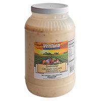 Ventura Gourmay 1 Gallon Creamy Italian Dressing - 4/Case