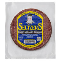 Seltzer's Lebanon Bologna 12 oz. Pack Sliced Sweet Bologna - 16/Case