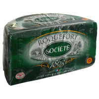 Societe 3 lb. Roquefort Cheese DOP - 2/Case