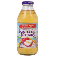 Nantucket Nectars 16 oz. Pressed Apple Juice - 12/Case