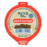 Ken's Foods 1 oz. Sweet & Sour Sauce Portion Cup - 100/Case