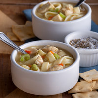 Spring Glen Fresh Foods 5 lb. Chicken Noodle Soup - 2/Case