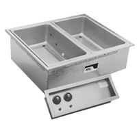 APW Wyott SHFWEZ-1D EZ-Fill 1 Well Insulated Drop In Hot Food Well - 208 / 240V