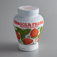 Fabbri 21 oz. Candied Wild Strawberries in Opaline Jar