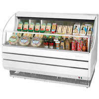 Turbo Air TOM-50S Slim Line 50 inch White Horizontal Air Curtain Display Case