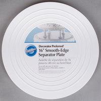 Wilton 302-4106 Decorator Preferred 16 inch Round Smooth Edge Cake Separator Plate