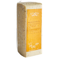 St. Clemens Imported Creamy Havarti Danish Cheese with Caraway - 9 lb. Solid Block