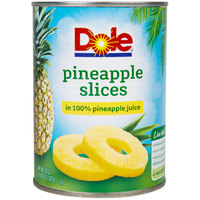 Dole 20 oz. Pineapple Slices in 100% Pineapple Juice