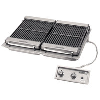 Wells B-506 36 inch Built-In Electric Charbroiler - 208V, 10800W