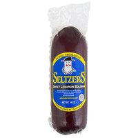 Seltzer's Lebanon Bologna Sweet Bologna 14 oz. Chub - 12/Case