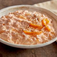 Fisher's Homestyle Salads 4 lb. Orange Tapioca Pudding