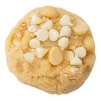 David's Cookies 4.5 oz. Preformed Vanilla Chip Macadamia Nut Cookie Dough - 80/Case