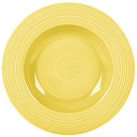 Homer Laughlin 462320 Fiesta Sunflower 21 oz. Pasta Bowl - 12/Case