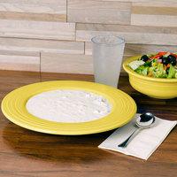 Homer Laughlin 462320 Fiesta Sunflower 21 oz. Pasta Bowl - 12/Case