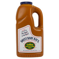 Sweet Baby Ray's 1 Gallon Golden Barbecue & Wing Sauce - 4/Case