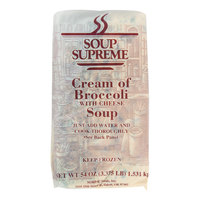 Soup Supreme 54 oz. Cream of Broccoli with Cheese Soup   - 4/Case