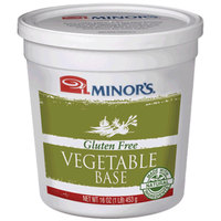 Minor's Gluten Free Sauteed Vegetable Base 1 lb. Tub   - 6/Case