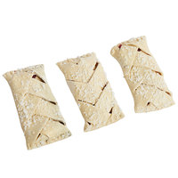Rich's 4.5 oz. Freezer-to-Oven Black Forest Braided Strudel Dough - 54/Case