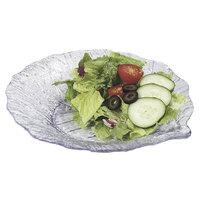 Carlisle 034707 Clear 9 inch Leaf Plate - 12/Case